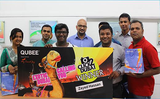 QUBEE Click 2 Dubai winners_Tech Shohor