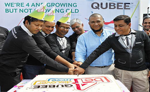 QUBEE celebrated their 4th year