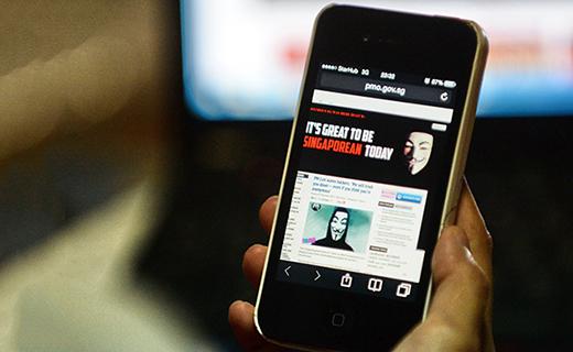 Anonymous hacks Singapore Prime Minister's website_ Tech Shohor