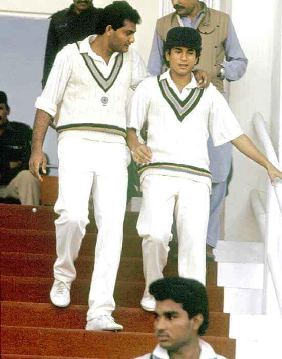 sachin test debut nov 15 1989
