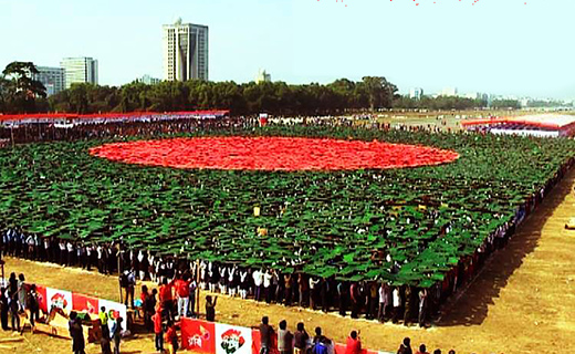 Bangladesh flag record-TechShohor