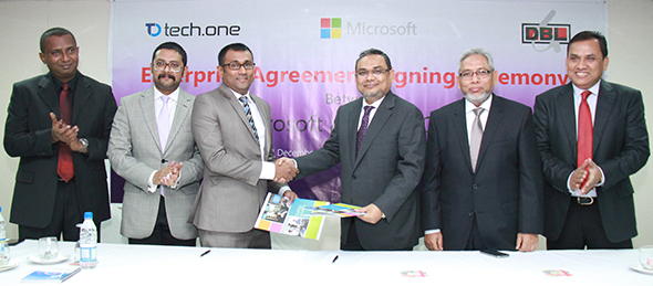 Microsoft-DBL Group Agreement Signing_TechShohor