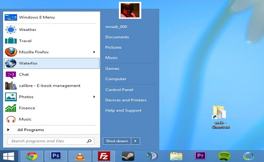 Microsoft_Windows_8.2 start menu-TechShohor