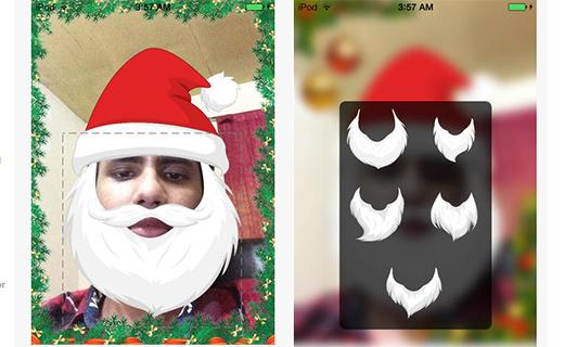 Santa look-TechShohor