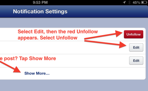 facebook unfollow_techshohor