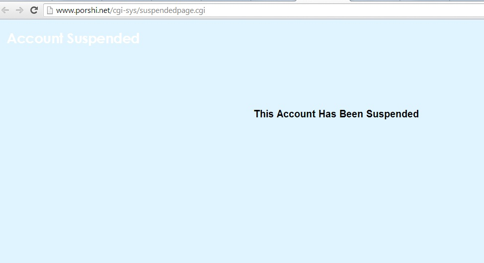proshi website suspended_techshohor