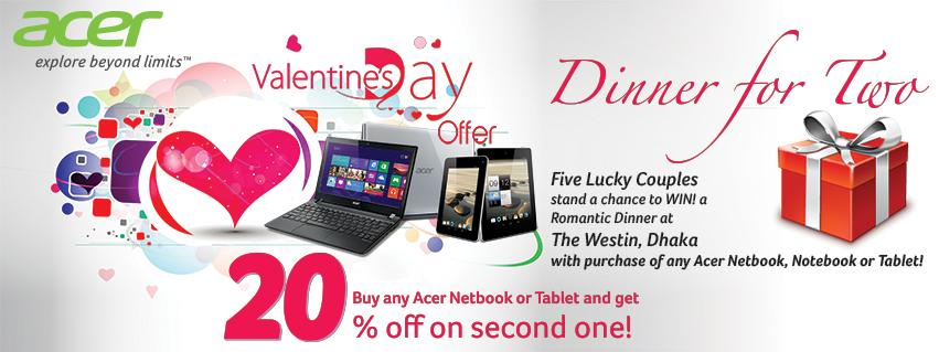 Acer valentine offer-TechShohor