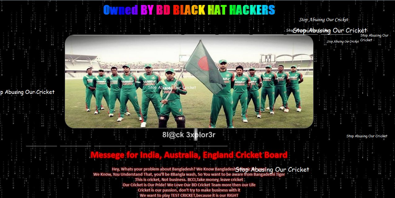 BBHH hacked indian site-TechShohor