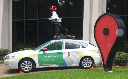 GoogleStreetViewCar_techshohor