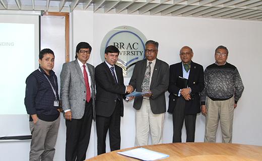 MoU Signing (EATL-BRAC University) - 23.01.2014