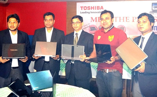 Toshiba laptop launcing-TechShohor