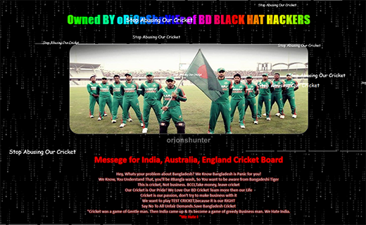 futuresports website hacked by orion hunter-TechShohor