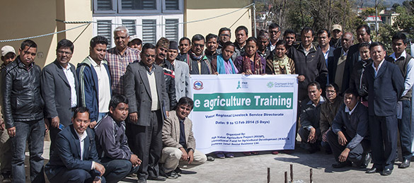 e-agriculture workshop by grameen intel-TechShohor