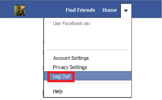 facebook-log-out_techshohor