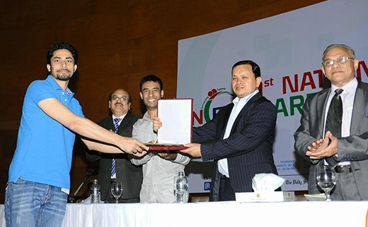 Kamrul Hasan Emon-Young Enterpreneurs award-TechShohor