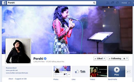 Porshi Facebook page-TechShohor