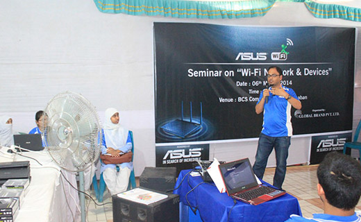 Seminar on ASUS Wi-Fi Network and Devices Held in Dhaka_Image