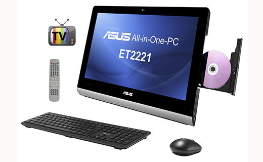ASUS ET2221IUTH Multi-touch All-in-One Desktop PC with TV Tuner-TechShohor
