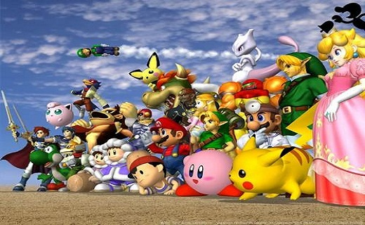 Super Smash Bros_techshohor