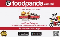 Foodpanda at burger and biriani fest-TechShohor