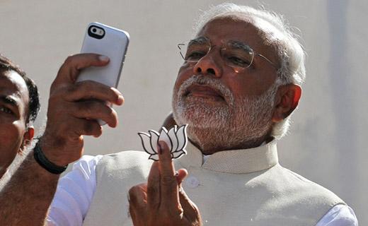 Narendra Modi selfi-TechShohor