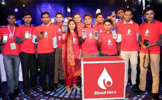 Blood Hero app starts from Bangladesh Internet Week