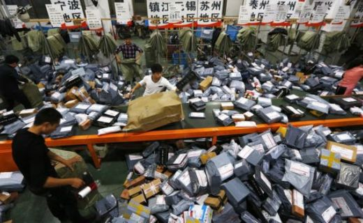 China's Alibaba breaks Singles Day record as sales surge