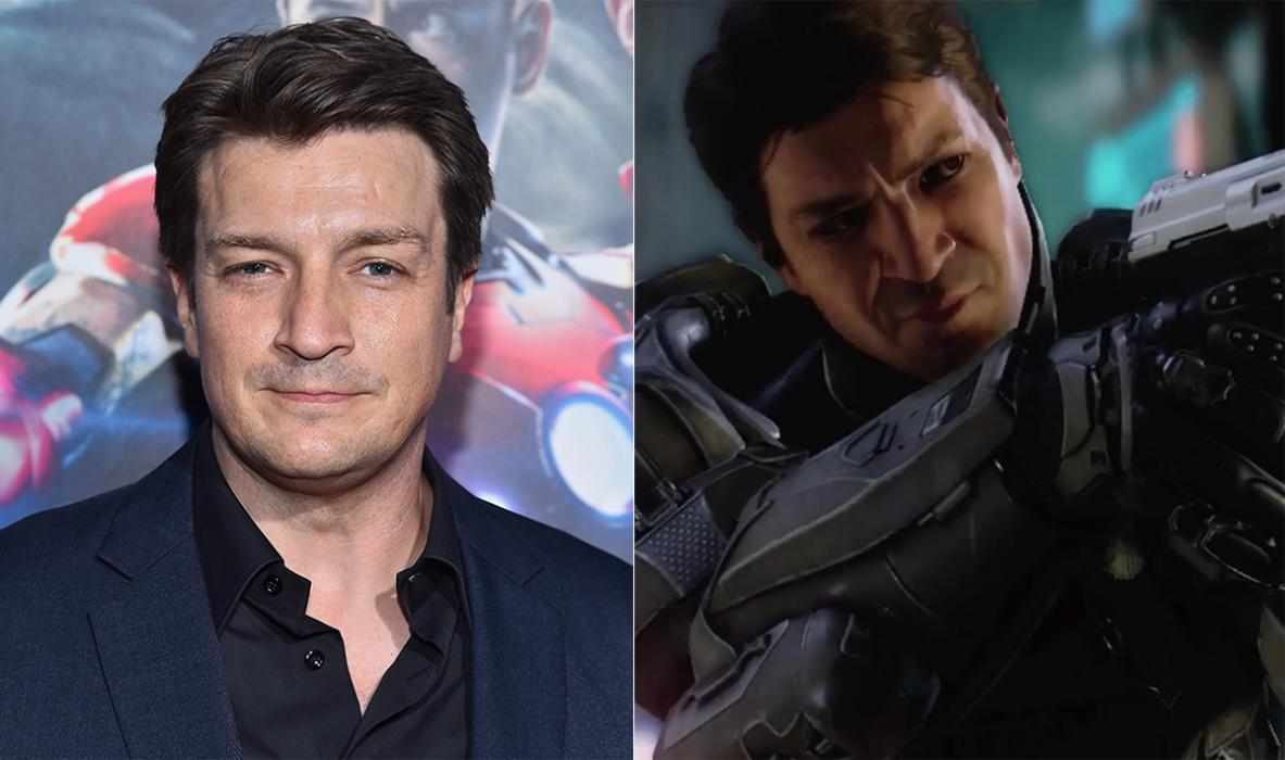 Nathan Fillion — Halo 5