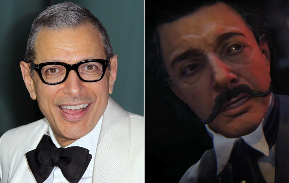 Jeff Goldblum — Call of Duty: Black Ops III