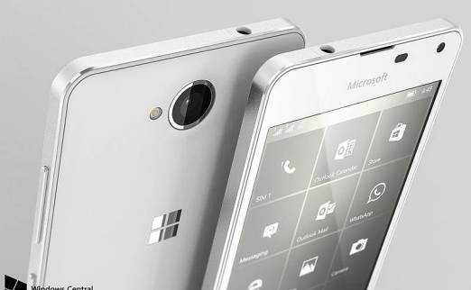 Microsoft Lumia 650 Spotted in Renders
