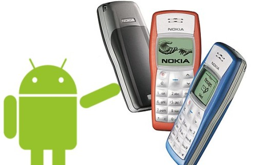 Nokia 1100 With Android 5.0 Lollipop