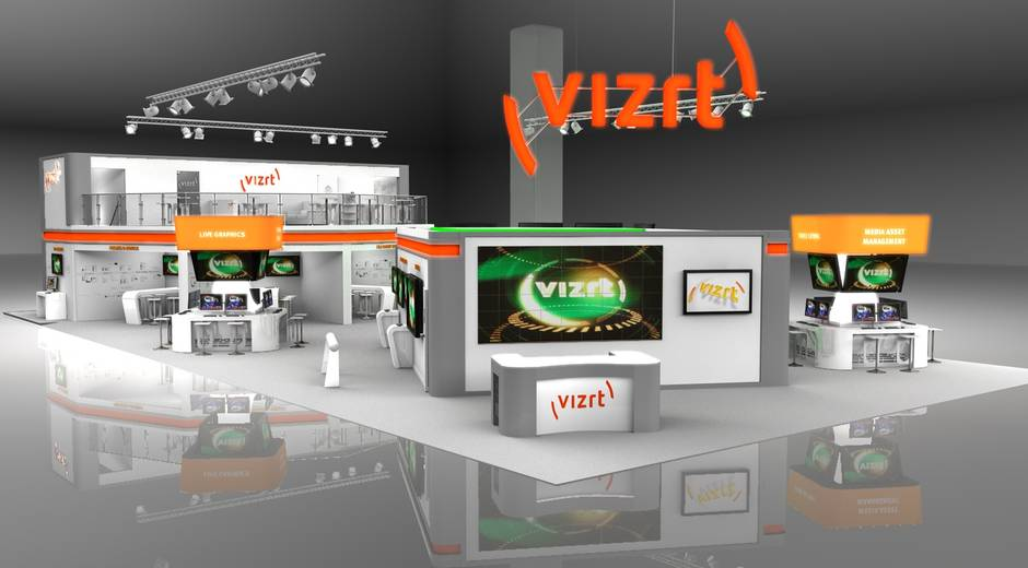 Vizrt NAB 2013 booth