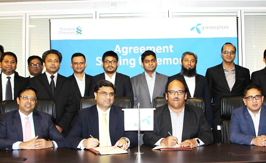 SCB Agreement Signing