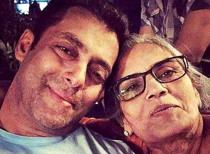 Salman Khan's selfie with his mother Salma-TechShohor