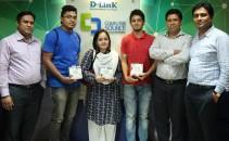 D-Link Boishakhi Quiz winners