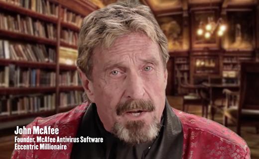 John MaAfee-TechShohor