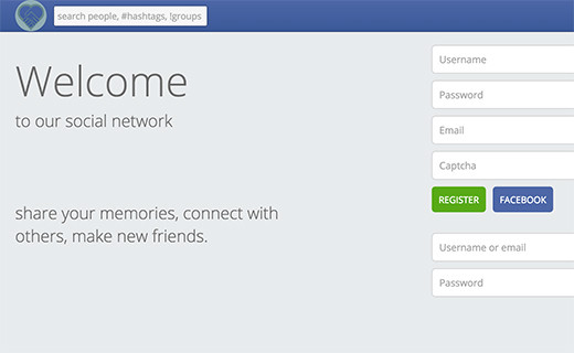 Starcon facebook clone website-TechShohor