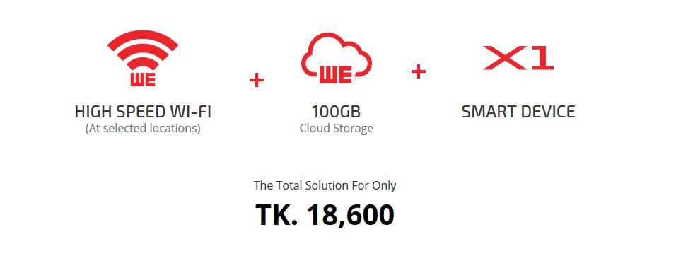 WE X1 Price bangladesh - TechShohor