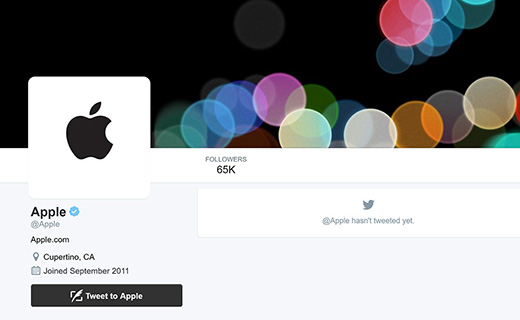 Apple-Twitter-account-TechShohor