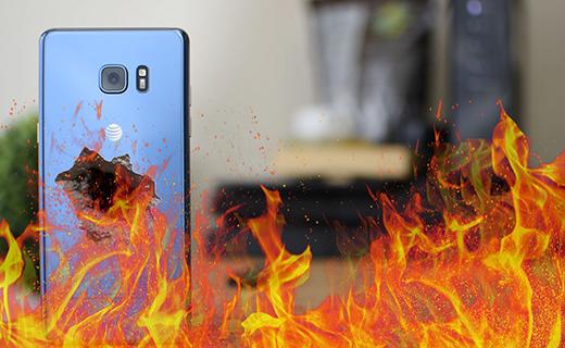 Galaxy Note 7 Exploding-TechShohor