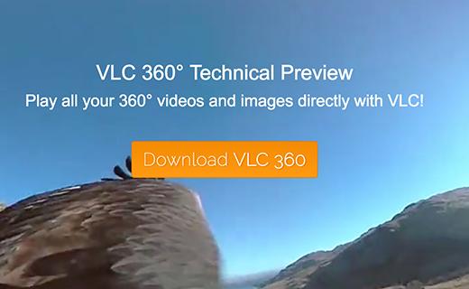 VLC 360 degree support-TechShohor