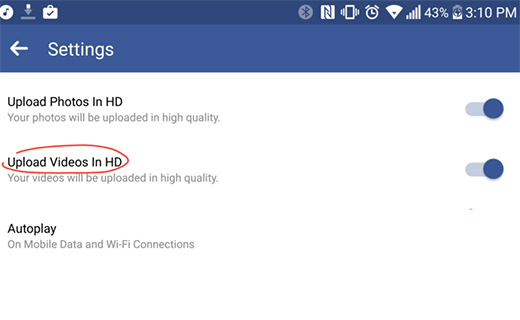HD video on Facebook-TechShohor