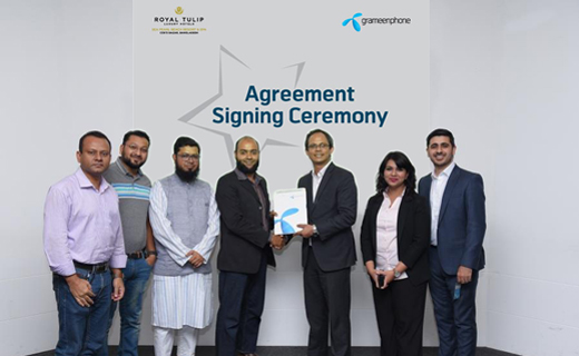Photo_Grameenphone_Partnership_Royal Tulip