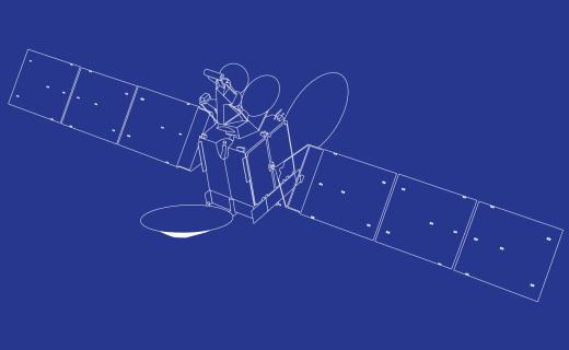 south. satellite