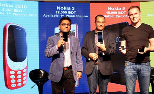 Nokia Handset Launching