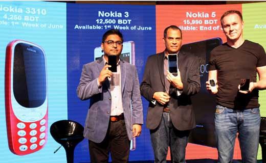 Nokia Handset Launching