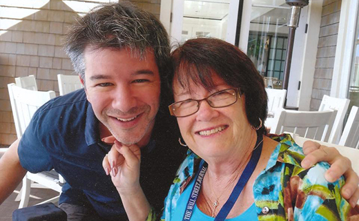 Uber CEO & his mother-TechShohor