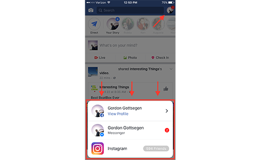 facebook-instagram-messenger-notification-integration-TechShohor