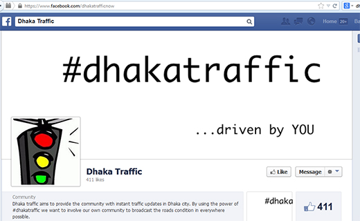 Dhaka Traffic_ Tech Shohor