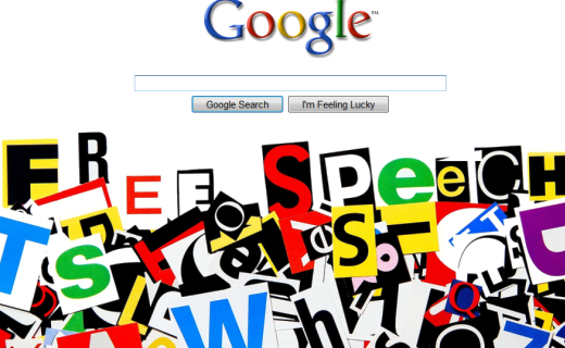 Google-free-speech, techshohor